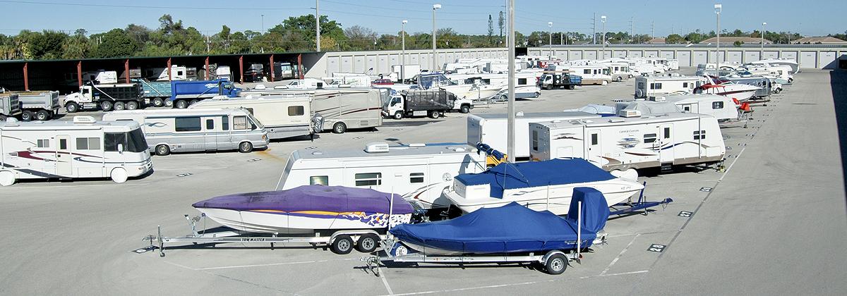 Boat, Rv, & Trailer Storage